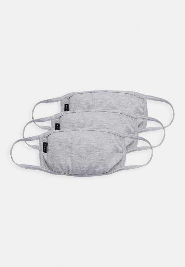 COMMUNITY MASK 3 PACK - Stofmaske - grey