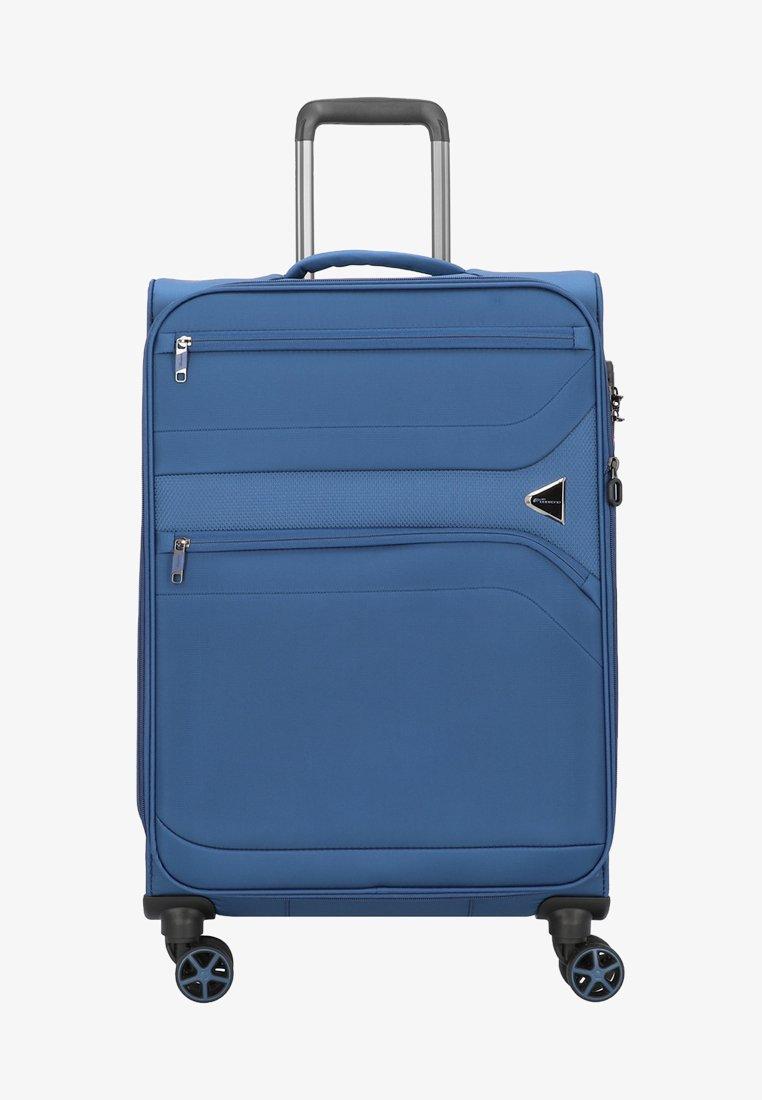 Cocoono - DEVOTION - Wheeled suitcase - blue