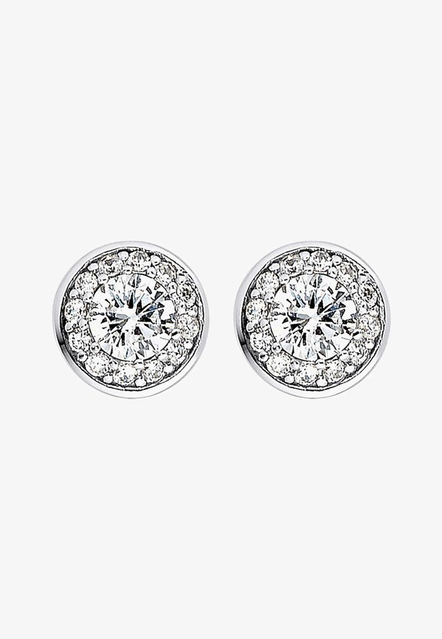 C-COLLECTION  - Earrings - silver-coloured