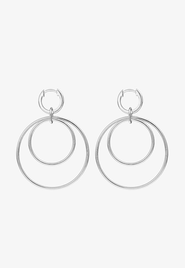 CREOLE - Earrings - silver-coloured