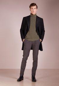 CC COLLECTION CORNELIANI - Classic coat - black - 1