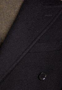 CC COLLECTION CORNELIANI - Classic coat - black - 4