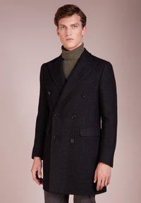 CC COLLECTION CORNELIANI - Classic coat - black - 0