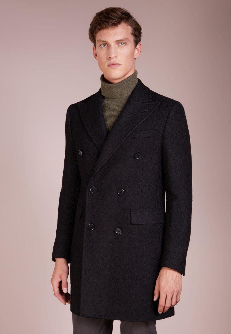 CC COLLECTION CORNELIANI - Classic coat - black