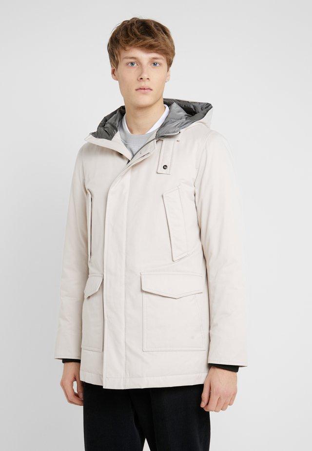 CARCOAT - Kabát zprachového peří - beige