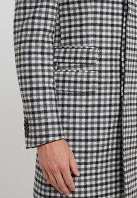 CC COLLECTION CORNELIANI - Classic coat - grey - 3