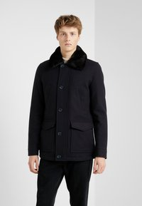 CC COLLECTION CORNELIANI - CARCOAT - Classic coat - dark blue - 0