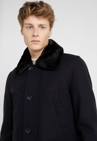 CC COLLECTION CORNELIANI - CARCOAT - Classic coat - dark blue - 6