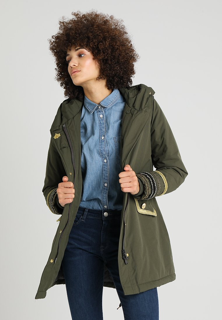 Canadian Classics - SONORA EMBROIDERY - Parka - army