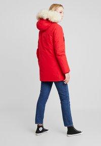 Canadian Classics - LINDSAY - Down coat - bright red - 2