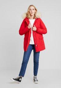 Canadian Classics - LINDSAY - Down coat - bright red - 1