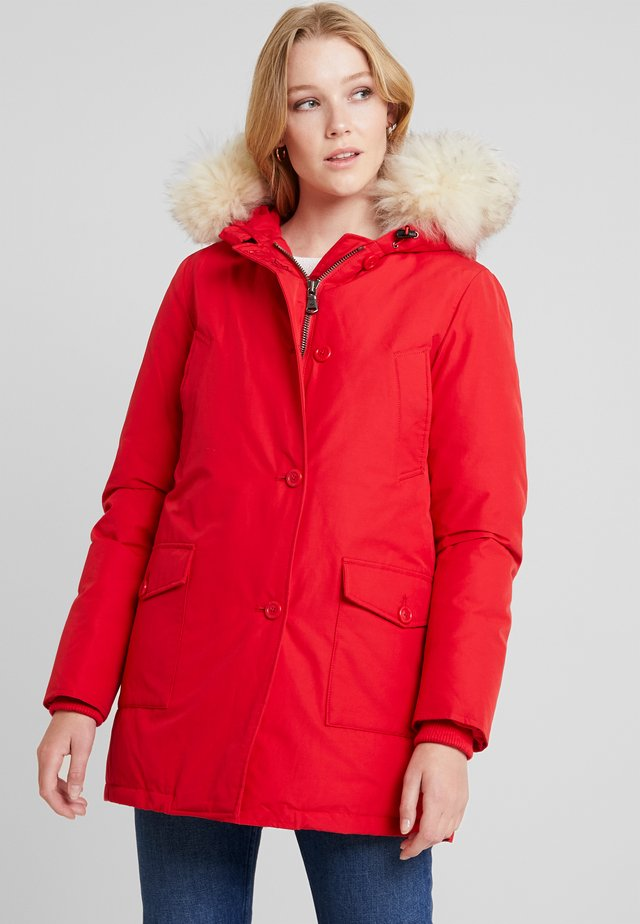 LINDSAY - Down coat - bright red