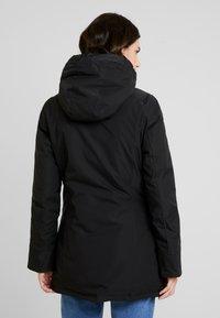 Canadian Classics - FUNDY BAY TECH HOOD - Down coat - black - 2