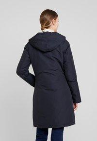 Canadian Classics - FUNDY BAY LONG FAKE FUR - Down coat - navy - 3