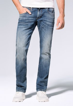 Straight leg jeans - medium blue used