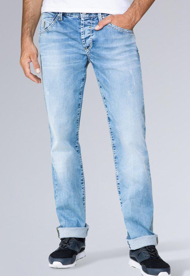 Straight leg jeans - light blue used