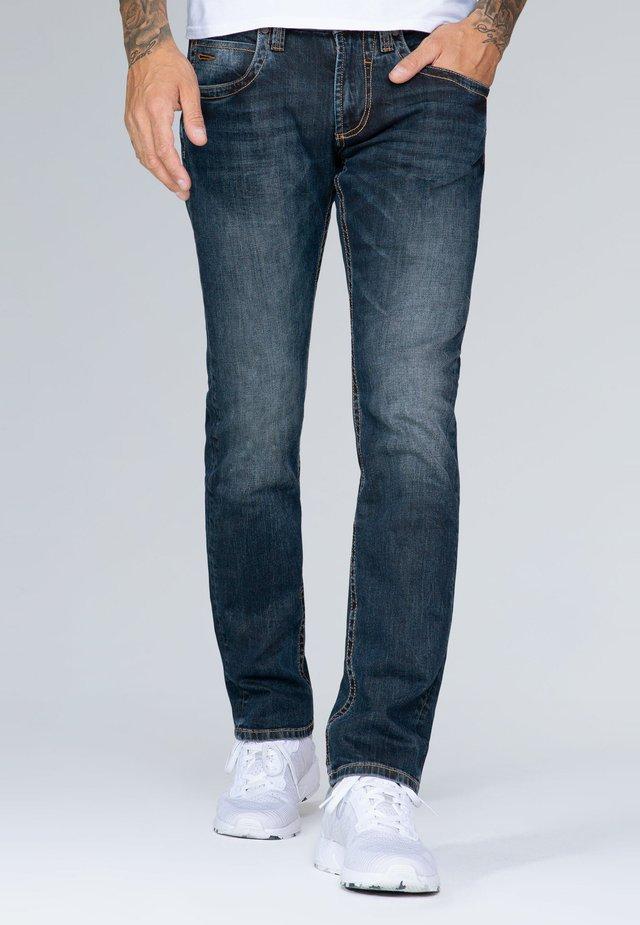 Straight leg jeans - dark vintage tinted