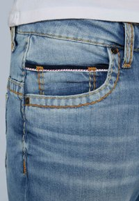 Camp David - RETRO STYLE - Straight leg jeans - light vintage - 4