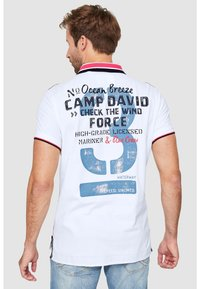 Camp David - Polo shirt - white - 2