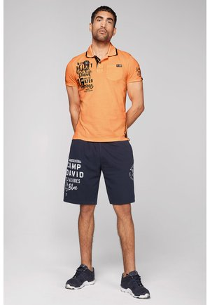 Polo shirt - neon orange