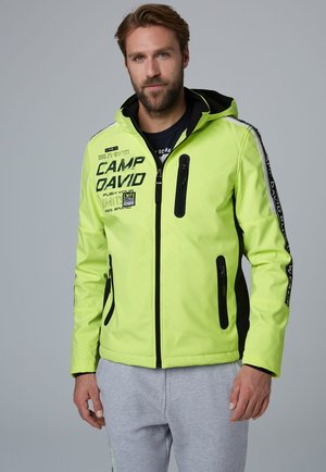 Outdoor jacket - neon lime