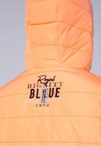 Camp David - MIT KAPUZE - Winter jacket - neon yellow - 6
