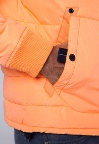Camp David - MIT KAPUZE - Winter jacket - neon yellow - 4