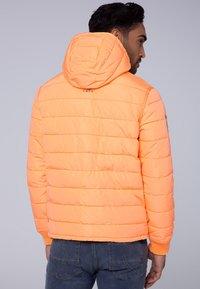 Camp David - MIT KAPUZE - Winter jacket - neon yellow - 2