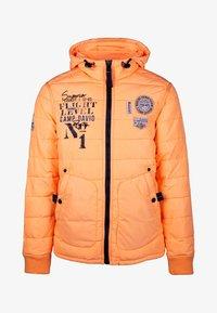 Camp David - MIT KAPUZE - Winter jacket - neon yellow - 7