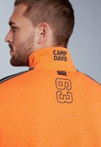 Camp David - Zip-up hoodie - neon fire - 4