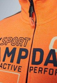 Camp David - Zip-up hoodie - neon fire - 6