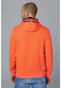 Camp David - Hoodie - neon fire - 2