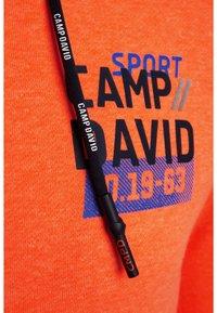 Camp David - Hoodie - neon fire - 5