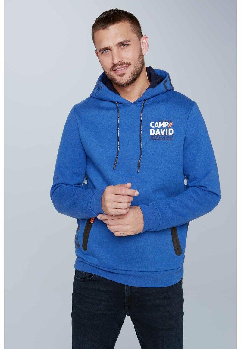 Camp David - Hoodie - blue