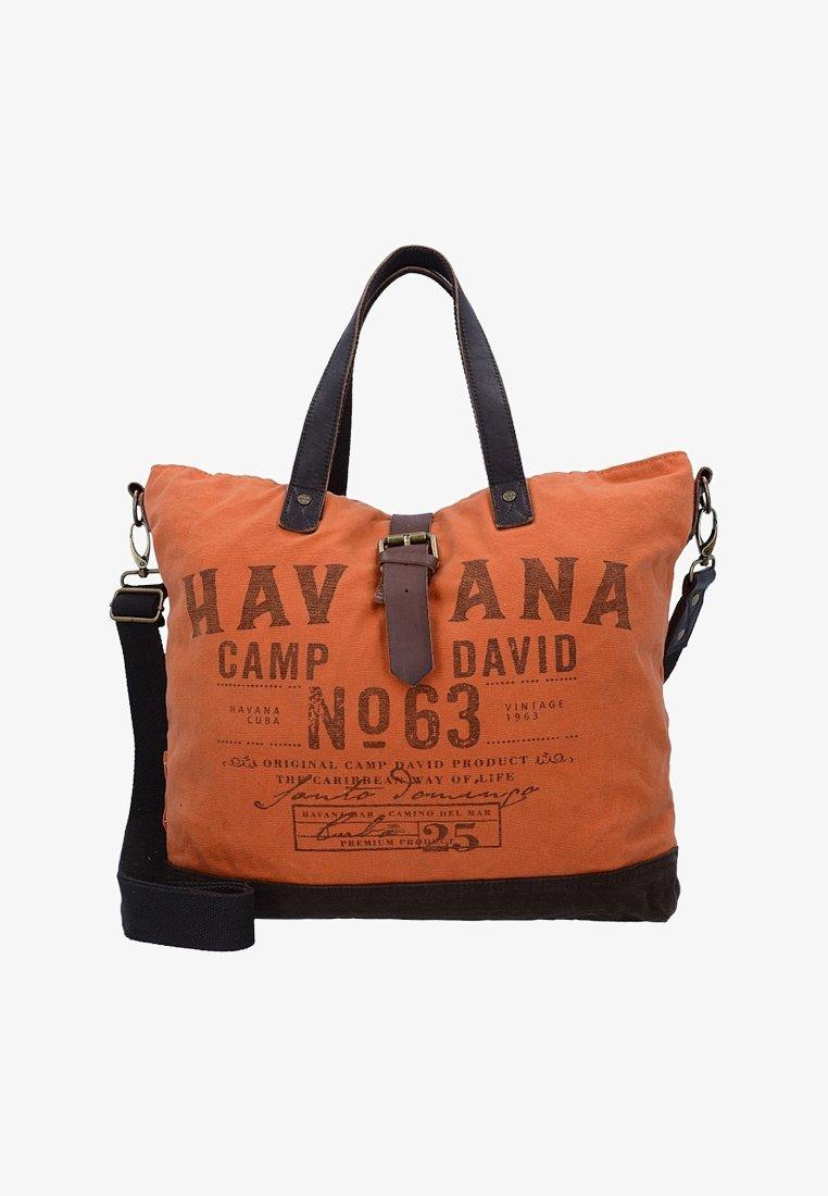 Camp David - Tote bag - orange