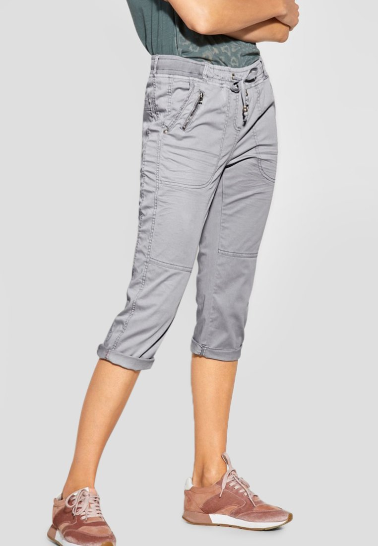 Cecil - LOOSE FIT - Shorts - gray