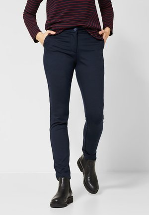 MIT COLLEGE DETAIL - Trousers - blue