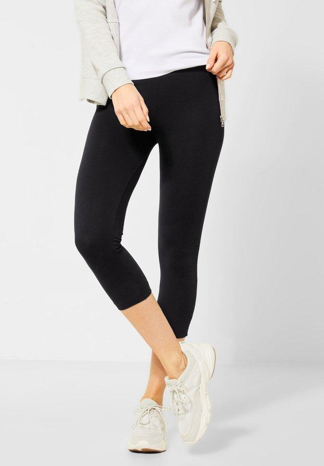 IM BASIC STYLE - Leggings - Hosen - black