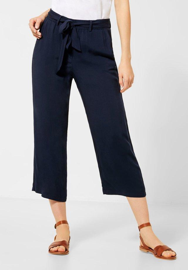 UNIFARBE - Trousers - blau