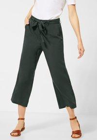 Cecil - UNIFARBE - Trousers - grün - 0