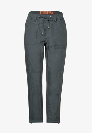 PAPER TOUCH - Trousers - grün