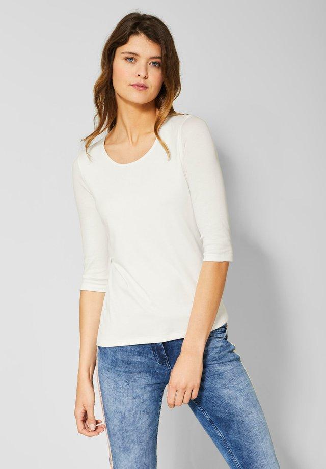 MIT 3/4 ÄRMELN - Long sleeved top - white