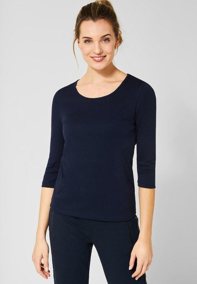 MIT 3/4 ÄRMELN - Long sleeved top - blue
