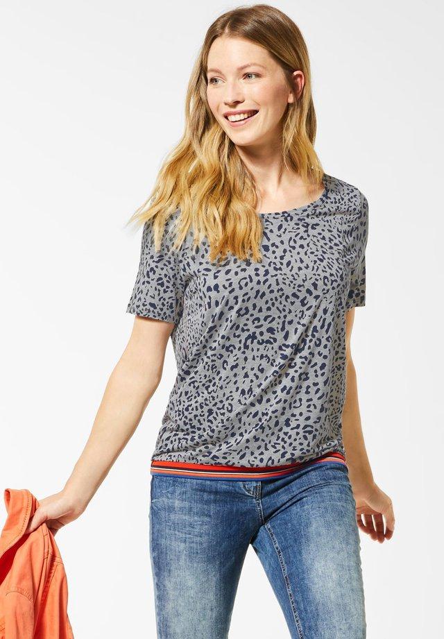 MIT LEOMUSTER - T-shirt print - grau