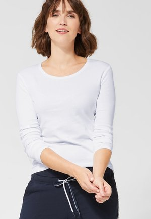 PIA - Long sleeved top - white