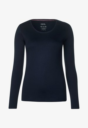 PIA - Long sleeved top - blue