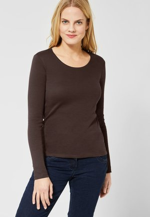PIA - Long sleeved top - brown