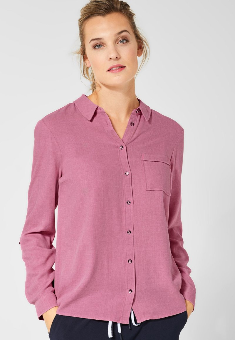 Cecil - Button-down blouse - pink