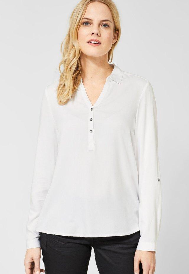 MIT STRUKTUR - Blouse - white