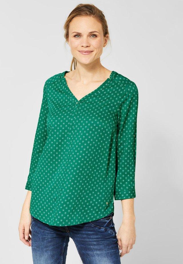 MIT MINIMAL MUSTER - Blouse - green